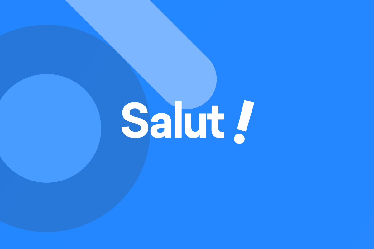 Say Salut to the most advanced theme